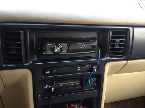 Replaced Factory Radio